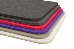 Polyethylene Material multi type and Color Shockproof Foam Stock Photo