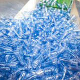 The Polyethylene of PET Polyethylene Royalty Free Stock Photo