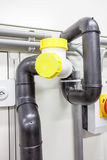 Polyethylene plumbing pipes Royalty Free Stock Photography