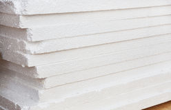 Polyfoam  building heater ream Royalty Free Stock Images