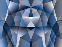 Polygon abstract Stock Photography