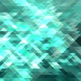Polygon abstract background green science and technology vector. Abstract polygon background,science and technology,vector background royalty free illustration
