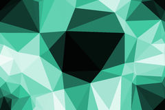 Polygon Abstract background Stock Photo