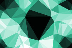 Polygon Abstract background Royalty Free Stock Image