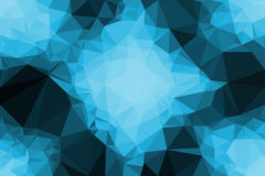Polygon Abstract background Royalty Free Stock Images