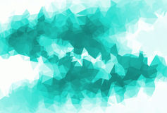 Polygon Abstract background Stock Images