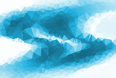 Polygon Abstract background Stock Photography