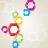 Polygon background Royalty Free Stock Images