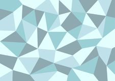 Polygon Background stock image