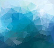 Polygon background Stock Images