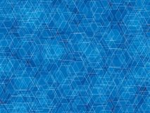 Polygon background. Blue white lines polygon abstract background Royalty Free Stock Photography
