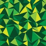 Polygon background green Royalty Free Stock Photos