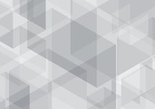 Polygon background hexagons gray Royalty Free Stock Photo