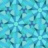Polygon background with irregular tessellations pattern - triangular design in fresh colors with triangles flowers. Polygon background with irregular vector illustration