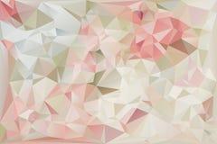 Polygon Background IV FINAL Stock Photo