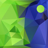 Polygon background Stock Photography