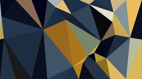 Polygon Blue yellow white black color wallpaper. Polygon Blue yellow white black color background stock illustration