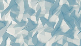 Polygon 3d background - Digital animation stock video footage