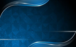 Polygon design abstract blank space background template Royalty Free Stock Photography