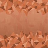 Polygon Earth Tone Background Stock Photo