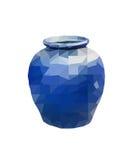 Polygon Earthenware jar Stock Photography