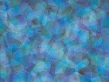 Background. Polygon geomethric blue-violet-green-black background Royalty Free Stock Photography