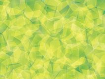 Background. Polygon geomethric fresh greenn background vector illustration
