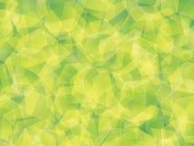 Background. Polygon geomethric fresh greenn background Stock Photos