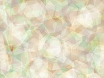 Background. Polygon geomethric green-brown background Royalty Free Stock Images
