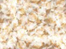 Background. Polygon geomethric light brown background Stock Image