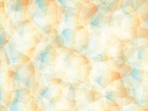 Background. Polygon geomethric orange-white-blue background Stock Photo