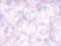 Background. Polygon geomethric pink-blue background Stock Photography