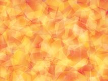 Background. Polygon geomethric red-orange-yellow background vector illustration