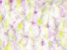 Background. Polygon geomethric white-pink-yellow background Stock Images