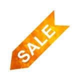 Polygon golden icon sale Stock Photos