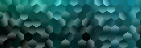 Hexagon abstract background. Polygon hexagon abstract background. design geometrical texture. pattern honeycomb Stock Image
