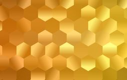 Hexagon abstract background. Polygon hexagon abstract background. design geometrical texture. pattern honeycomb stock illustration