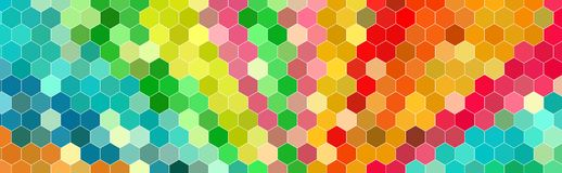 Hexagon abstract background. Polygon hexagon abstract background. design geometrical texture. pattern honeycomb Stock Photo