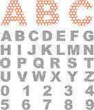 Polygon Letters Royalty Free Stock Photo