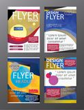 Polygon Modern Brochure Layout design template.Flyer Leaflet cov. Er Presentation eps.10 stock illustration