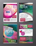 Polygon Modern Brochure Layout design template.Flyer Leaflet cov. Er Presentation e royalty free illustration