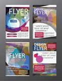 Polygon Modern Brochure Layout design template.Flyer Leaflet cov. Er Presentation illustration royalty free illustration