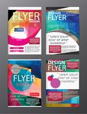 Polygon Modern Brochure Layout design template.Flyer Leaflet cov. Er Presentation vector illustration