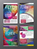 Polygon Modern Brochure Layout design template. Flyer Leaflet cov. Eps . 10 Abstract Polygon Modern Brochure Layout design template. Flyer Leaflet cover royalty free illustration