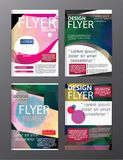 Polygon Modern Brochure Layout design template.Flyer Leaflet cov. Er Presentation eps.10 Royalty Free Stock Images