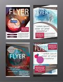 Polygon Modern Brochure Layout design template.Flyer Leaflet cov. Er Presentation eps.10 Royalty Free Stock Photos
