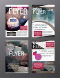 Polygon Modern Brochure Layout design template.Flyer Leaflet cov. Er Presentation stock illustration