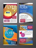 Polygon Modern Brochure Layout design template.Flyer Leaflet cov. Er Presentation eps .10 royalty free illustration