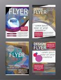 Polygon Modern Brochure Layout design template.Flyer Leaflet cov. Er Presentation eps.10 royalty free illustration