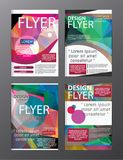 Polygon Modern Brochure Layout design template.Flyer Leaflet cov. Er Presentation eps stock illustration